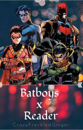 Batboys x Reader - Batsis!Reader x Harley Quinn -