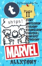 Funny Posts Tumblr II (Marvel) stony, winterIron, ships by SomaLaikYu