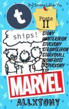 Funny Posts Tumblr II (Marvel) stony, winterIron, ships by SomaLaikYu