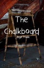 The Chalkboard // z.m au by adictajonas