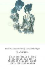 Protect || Conversation || Direct Massenger • CAKSHILL by rkrhmnd