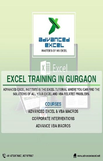 Advanced Excel Training in Gurgaon | Excel Training in