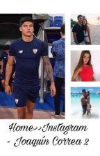 Home>> Instagram - Joaquín Correa 2da temporada by lucasalario