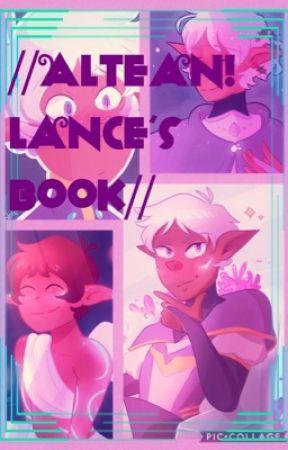 🔷👑//Altean// Lance Amazing book 🔷👑 by Hamilton_Sos