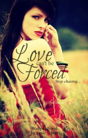 Love can't be forced, stop chasing.