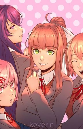 Doki Doki Literature Club Characters x Male Reader by Markimoo1669