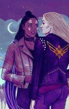 Valkyrie and Carol by JemmaRose0224