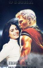 A irmã de Tony Stark _ Thor (Vingadores) by SteicyPrado