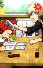 with the exception of you, i dislike everyone in the room [kiribaku - bnha] by PorcelainSky