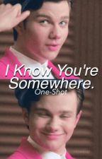 I Know You're Somewhere (One-Shot).  by KlaineInTheSky