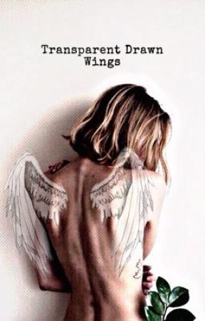Transparent Drawn Wings by K120pop