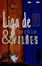 Liga de Heróis e Vilões(LHV)- Cold War by meninalokona