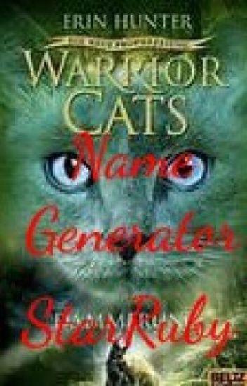 Warrior Cats Name Generator