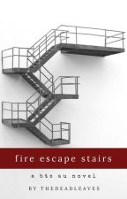 fire escape stairs by thedeadleaves