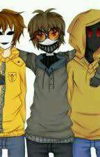 Un Amor De Tres (Masky x hoodie X Toby) by Masky_26