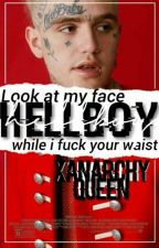 HELLBOY • Lil Peep by xanarchyqueen