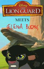 The Lion Guard Meets Selena Burns by cookiemonsterRULEZ