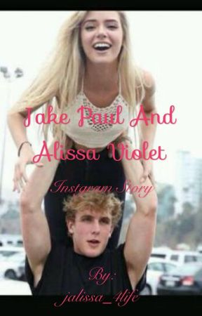 Jake paul and Alissa violet:Instagram story by jalissa_4life