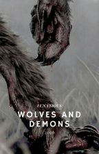 WOLVES & A DEMON by LUNATIOUS