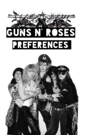 Guns N' Roses Imagines + Preferences  by httpslash