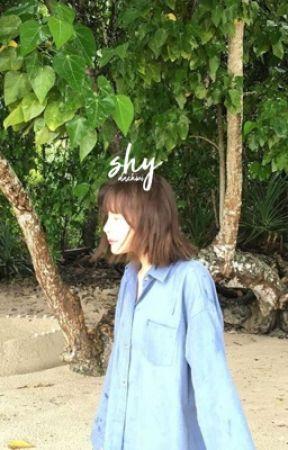 shy ' bang byungchan by daxhwi