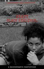 heavy black eyeliner. {harry hook} by nicoleeeojj