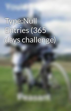 Type:Null Entries (365 days challenge) by Wondersketch23
