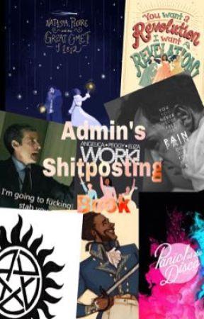 Admin's shitposting by Rosalie_Koning