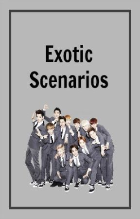 EXOtic One Shot/Scenarios - When Lay is Jealous as You are Wearing