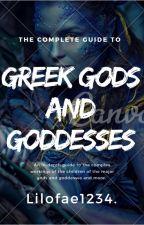 Greek Gods and Goddesses by Lilofae1234