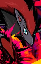 Reader (Male) X Zoroark (Female) A Dark Bond by CaiusAmosAthlai