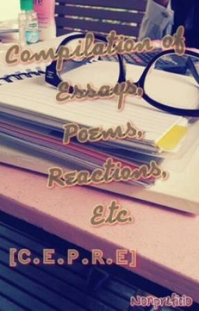 compilation of essay poems reactions etc character sketch  compilation of essay poems reactions etc