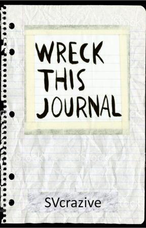 WRECK THIS JOURNAL virtual - Sarah V by infinitenotes