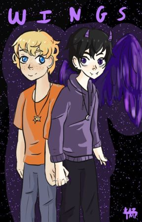 Wings (A solangelo AU) by kazika6