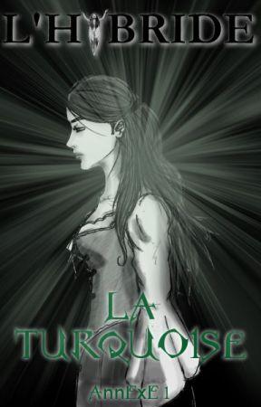 La Turquoise (L'Hybride, Annexe 1) by AmlieAndrea