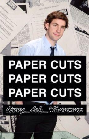 paper cuts || Jim Halpert by Liv_deh_Whovian