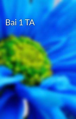 Đọc truyện Bai 1 TA