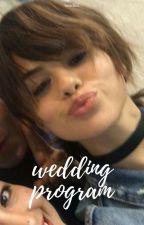 Wedding Program. by beadlez