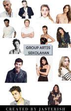 Group Artis Sekolahan 😎🔥 by JasmineJackson15