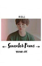 Sweater Paws //Yoongi×BTS// by FishyFins2102