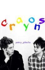 crayons by pancy_pikachu