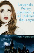 Leyendo Percy Jackson y el ladrón del rayo en Hogwarts by bubble_fio