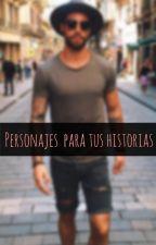 Personajes para tus historias by Ivonne_019
