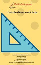 calculus homework help by studentmathhelp