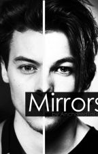 Mirrors// OS Larry Stylinson  by AnchoredtoLou