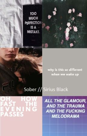 Sober//Sirius Black by Alicia_Potteck