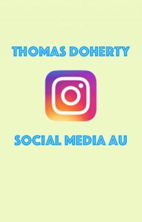 Thomas Doherty Social Media au by parkersharthook