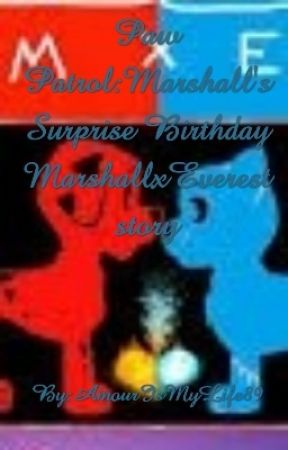 Paw Patrol Marshalls Surprised Birthday Week MarshallxEverest Story