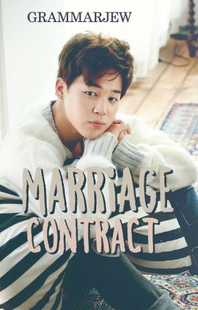 Marriage Contract | Jimin by GrammarJew