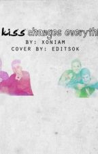 The Kiss Changes Everything. [BoyxBoy; Cargan story] by stinging